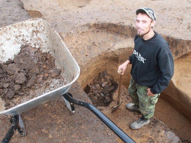 Výzkum archeologů ve Zlíně - Malenovicích