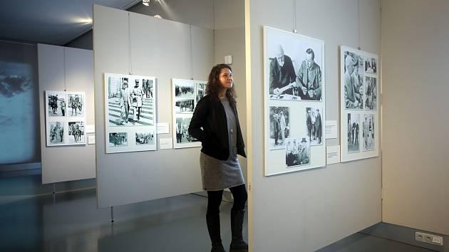 Výstava T. G. Masaryk ve fotografii v muzeu v  Napajedlích.