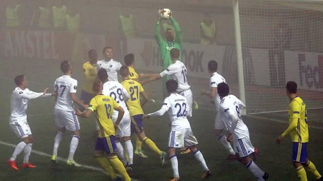 fotbal FC FASTAV Zlín - FC Kodaň