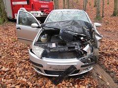 Nebezpečnou honičku zdrogovaný řidič nezvládl.