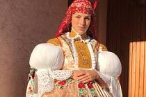 Klára Dalajková ze Spytihněvi. Folklor je pro ni životním stylem.