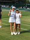 Renata Voráčová s Japonkou Ninomiyaovou