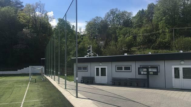 Fotbalový stadion ve Zlíně - Pasekách.