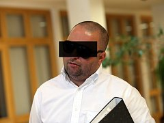 Michal Cepek u Krajského soudu ve Zlíně.