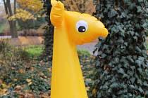 žirafa z Fatry Napajedla
