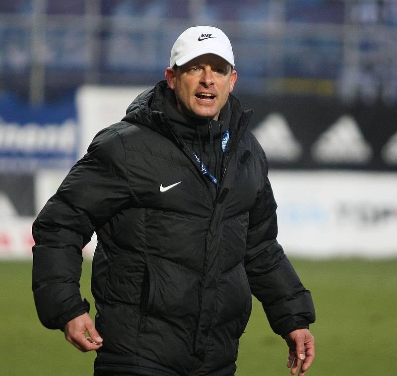 Trenér Slovácka Martin Svědík.