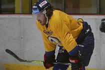 Na zkoušce v hokejovém PSG Berani Zlín se ve středu objevil francouzský útočník Valentin Claireaux.