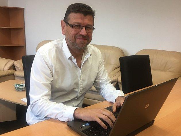 Ředitel fotbalového klubu Fastav Zlín Leoš Gojš
