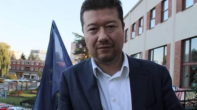 Tomio Okamura, kandidát na senátora za zlínský obvod.