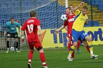 Tescoma zlín (ve žlutém) vs. Slovan Varnsdorf