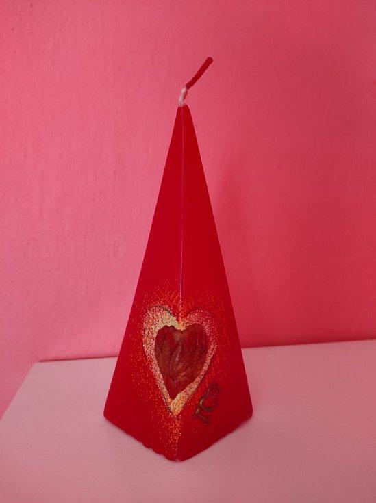 Na Valentýna mě potěšilo několik drobností od přítele.