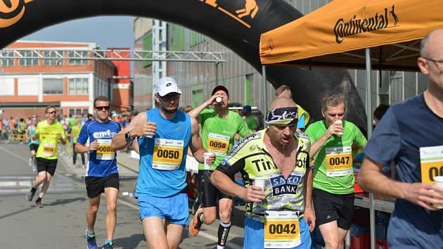 Festivalový půlmaraton ve Zlíně. Ilustrační foto