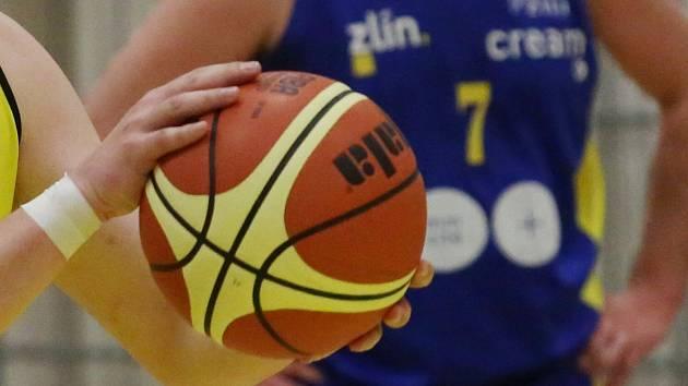 Basketbalisté Zlína. Ilustrační foto