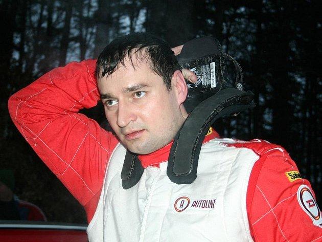 Zlínský rallyeový závodník Jan Jelínek.