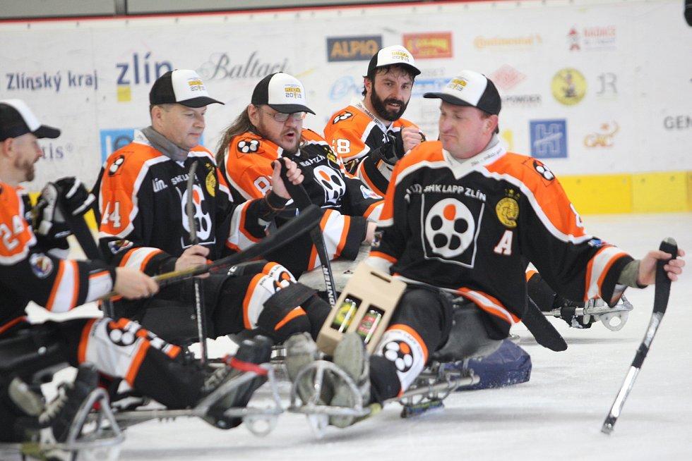 Sledge hokejisté Lapp Zlín. Ilustrační foto