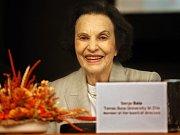 Sonja Baťová přednášela na Mezinárodní Baťově konferenci ve Zlíně.