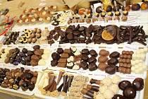Druhá čokoládová show Francouze Chrise Delattre ve Zlíně.
