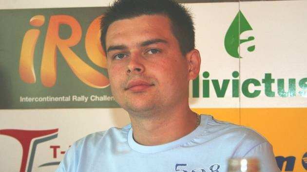 Rallyový pilot Jaroslav Orsák.