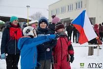 Závody v klasickém lyžování v Lačnově 2019