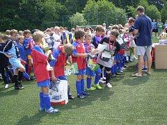 Krajského kola McDonald´s Cup ve Zlíně se zúčastnilo více než 100 dětí základních škol.