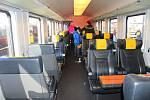 V sobotu 14. listopadu 2015 se na vlakovém nádraží v Otrokovicích konal Den s RegioJetem, v rámci kterého představili nový vlak, který v polovině prosince nasadí na trasu do Zlínského kraje.