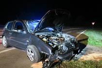 V sobotu 4. září havaroval s vozidlem Volkswagen Golf  u Otrokovic jednatřicetiletý řidič. Pod vlivem alkoholu a drog nezvládl v zatáčce řízení a dostal smyk.