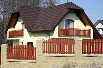 Satelitní typy domů na Zlínsku
