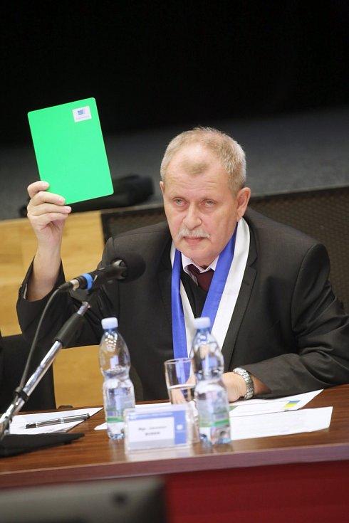 Ustavující Zastupitelstvo města Otrokovice.Jaroslav Budek