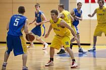 Prvoligoví basketbalisté Proton Zlín. Ilustrační foto