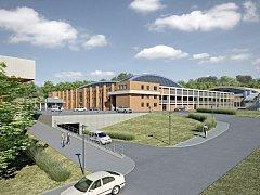 Návrh rekonstrukce zimního stadionu ve Zlíně