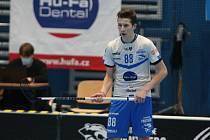 Útočník František Vykopal byl s 24 body nejproduktivnějším hráčem Otrokovic v superligové sezoně.