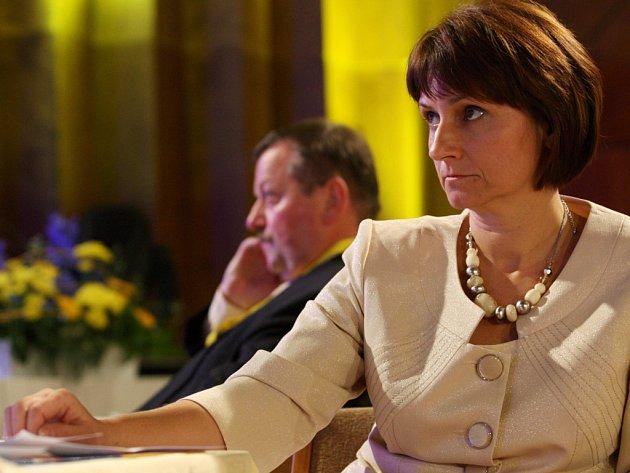 Michaela Šojdrová je jednou z kandidátů na post předsedy KDU-ČSL.