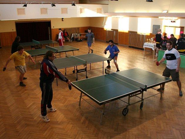 Vánoční turnaj ve stolním tenise ve Spytihněvi
