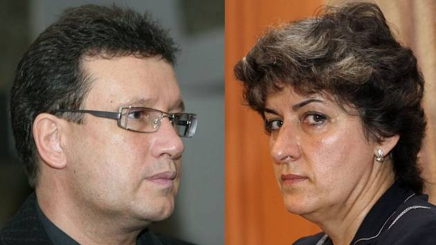 Miroslav Šindlář (ODS) a  Alena Gajdůšková (ČSSD).
