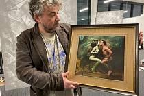 Výstava Jana Saudka v Obchodním domě opět otevřená