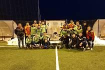 finále Zimní ligy v malém fotbale ve Fryštáku