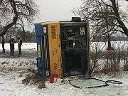 Řidič linkového autobusu Rudolf Fimbinger u soudu dne 10. února 2009.