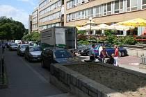 Bartošova ulice by se měla podle radních stát pěší zónou