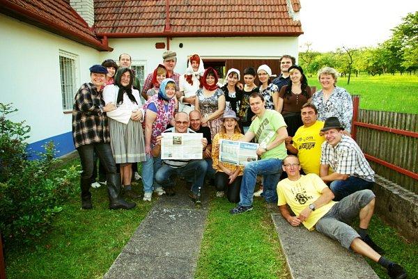 Soutěžní číslo 5 - Petr Borovička, narozeninová oslava ve Vlčnovských búdách.