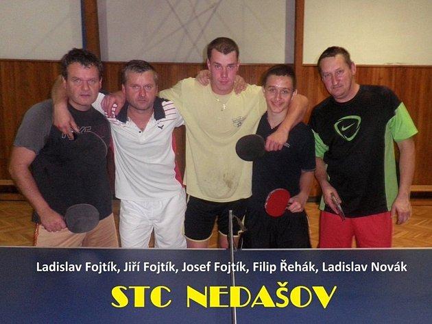 Stolní tenisté Nedašova
