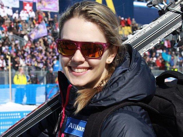 Zlínská sjezdová lyžařka Klára Křížová