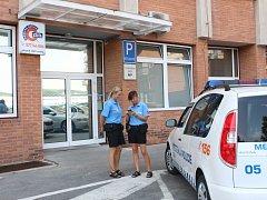 Služebna Městské policie na Jižních Svazích. Ilustrační foto
