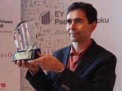 Oční chirurg Pavel Stodůlka je podnikatel roku 2014 za Zlínský kraj