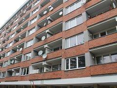 Bytový dům na ulici Vodní, kde se v bronzovou neděli stala tragická událost