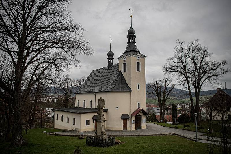 Obec Vlachovice - Vrbětice na Zlínsku, 22. dubna 2021.
