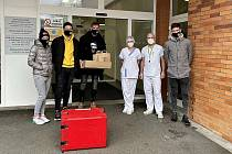 Fotbalisté Zlína v týdnu navštívili Krajskou nemocnici Tomáše Bati.