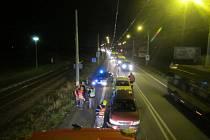 Nehoda čtyř osobních aut omezila ve čtvrtek v podvečer příjezd do Otrokovic ve směru od Zlína.