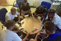Ve Sportovním centru Radostova v Luhačovicích se připravují fotbalisté Zlína.