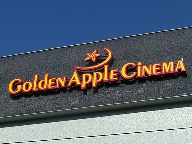 Golden Apple Cinema. Ilustrační foto