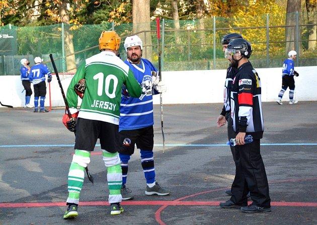 2. hokejbalová liga Malenovice - Hodonín